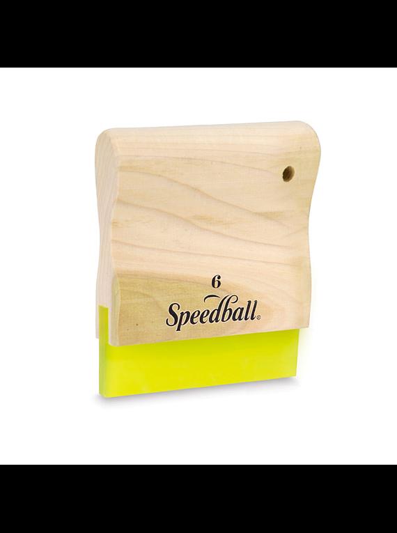 Speedball Graphic - Racleta Madera 15 cm, 70 Durómetro