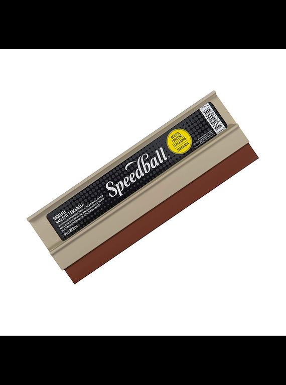 Speedball Serigrafía - Racleta Plástica 23 cm, 65 Durómetro