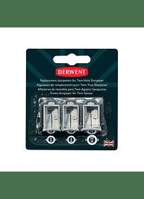 Derwent - Repuestos para Sacapuntas Eléctrico Doble Punta