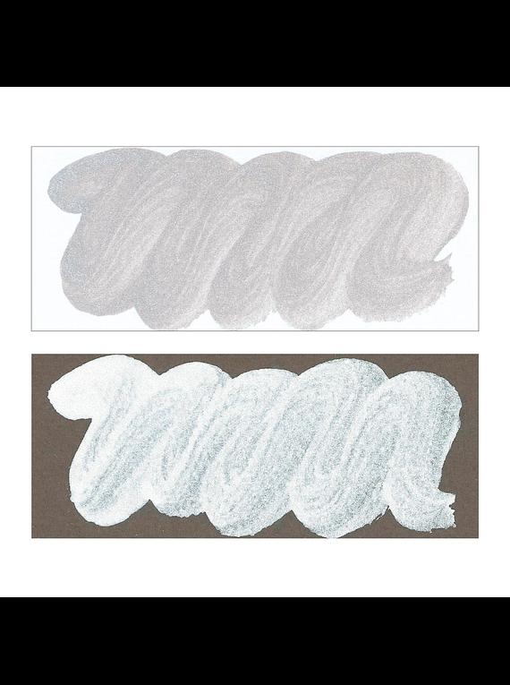 Kuretake Silver Mica - Tinta Plateada (60 ml)