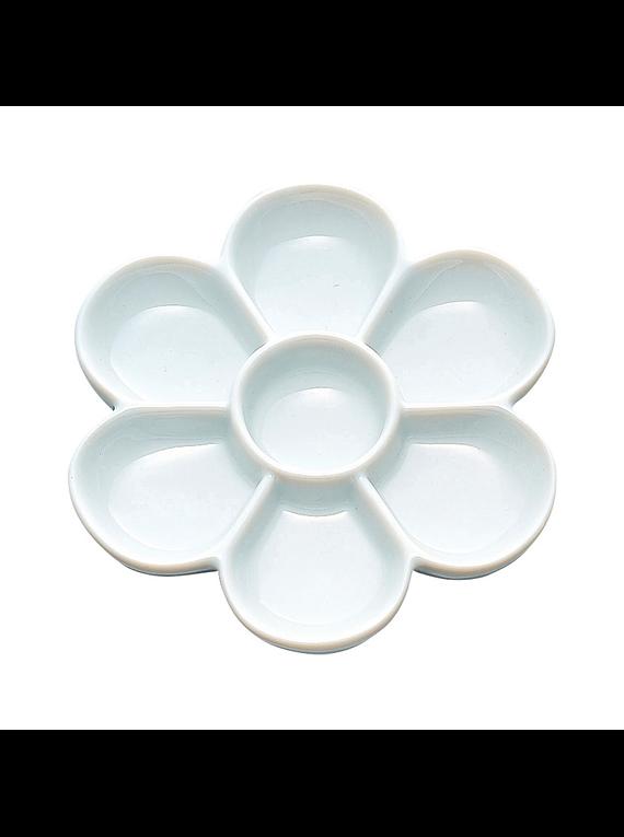 Kuretake Etegami - Paleta Mezcladora Umezara Palette Porcelana