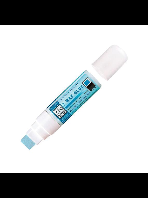 Kuretake Zig - Lápiz de Pegamento 2 Way Glue