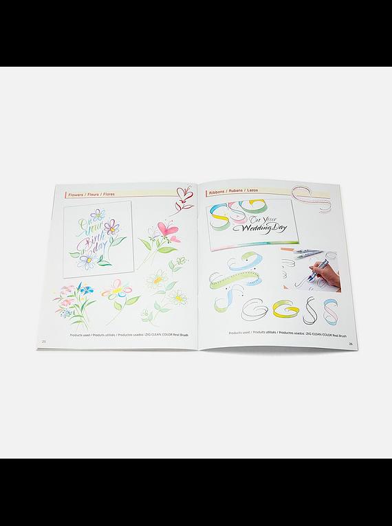 Kuretake - Revista A to Zig Calligraphy Brush Lettering