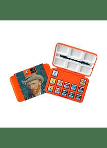 Van Gogh Pocket Box - Set 12 Acuarelas Museum