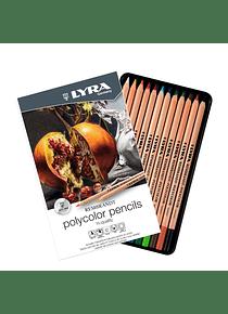 Lyra Rembrandt Polycolor - Set 12 Lápices de Colores