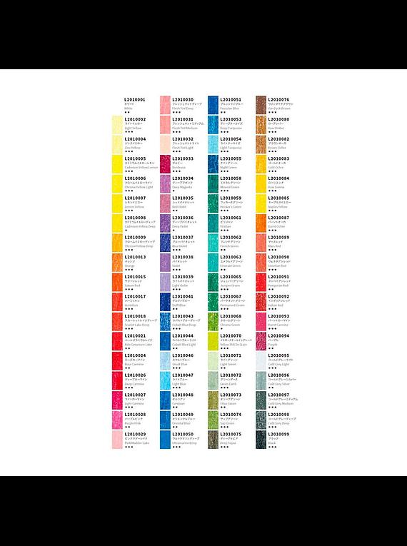 Lyra Rembrandt Aquarell - Set 72 Lápices de Colores