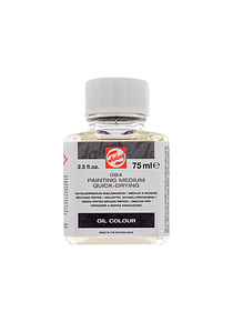 Talens - Medium para Pintura Secado Rápido 084 75 ml