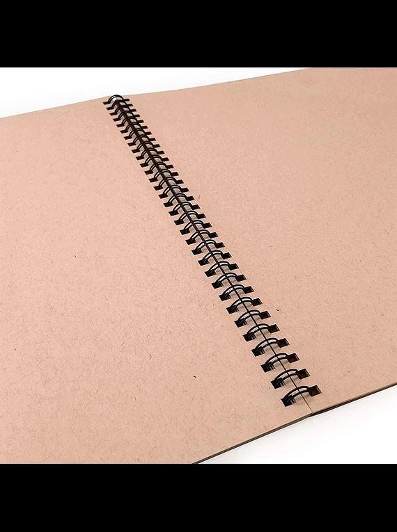 Strathmore Toned Tan - Croquera 27,9 x 35,6 cm 118 g/m2 24 hojas