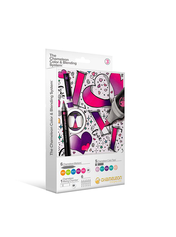 Chameleon - Kit Marcadores Color & Blending System 3