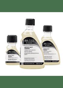 Winsor & Newton Oil Colour - Barniz Mate Botella