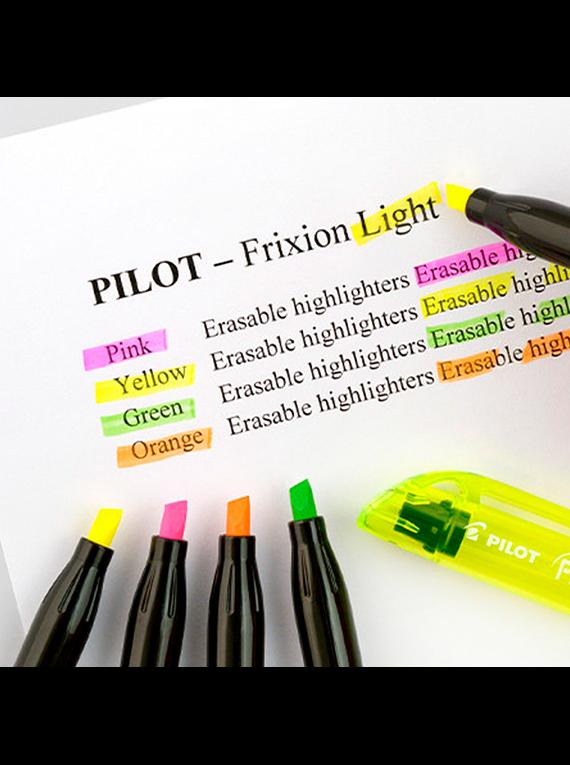 Pilot Frixion Light - Set 6 Destacadores Borrables Neón