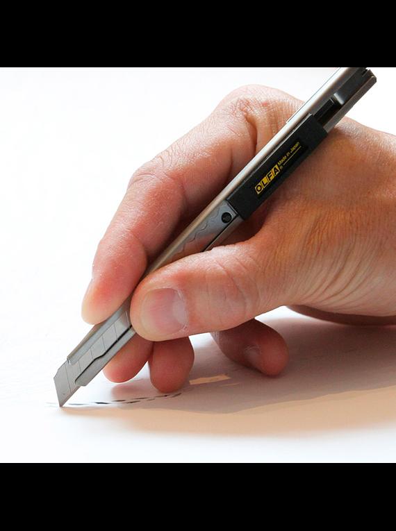 Olfa - Cuchillo de Precisión 9 mm SVR-1