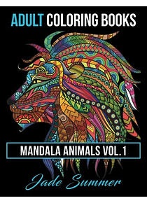 Libro de Mandalas: Mandala Animals Vol. 1