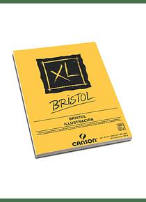 Canson XL - Croquera Bristol, A4 21 x 29,7 cm, 50 Hojas, 180 gr/m2