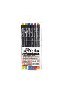 Too Markers Atyou Spica - Set 6 Tiralíneas Color Set 2; Glitter