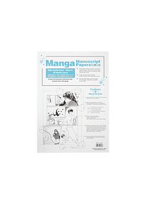 Too Markers Manga Manuscript - Pack 40 Hojas 135-B4
