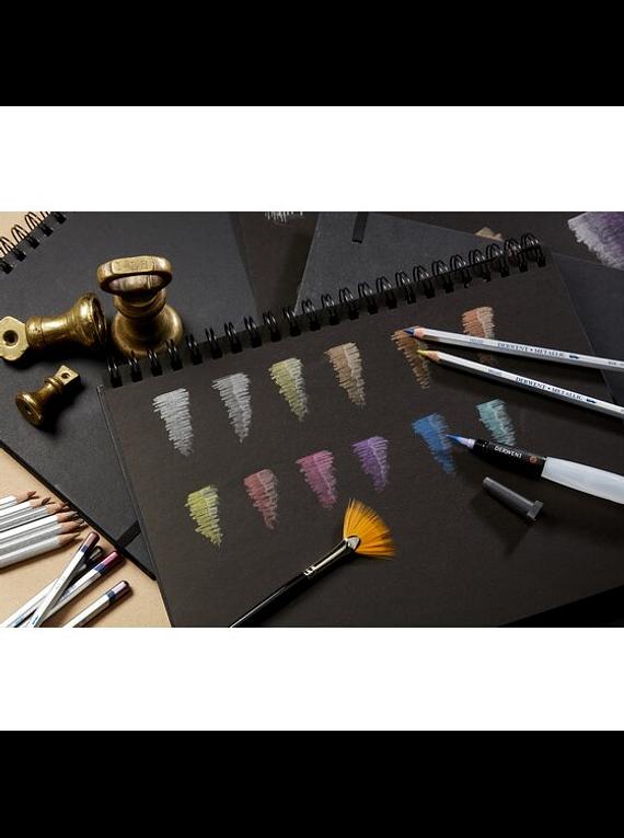 Derwent - Set 6 Lápices de Colores; Metálicos