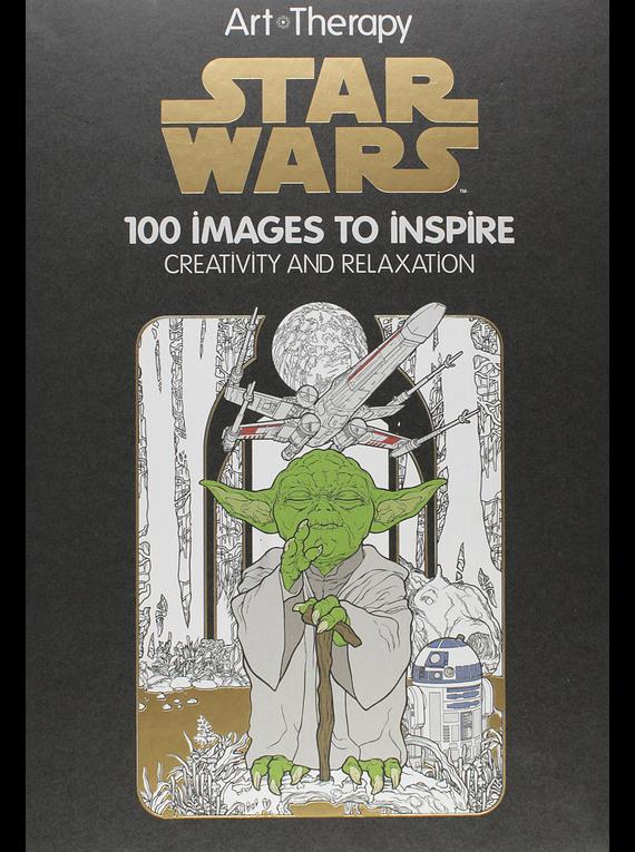 Disney Art of Coloring - Libro para Colorear; Star Wars, 100 Imágenes