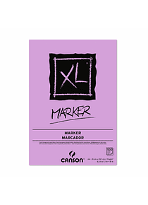 Canson XL - Pad Marker, A4 21 x 29,7cm, 100 Hojas, 70 gr/m2