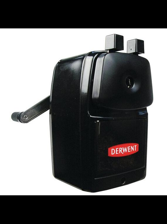 Derwent Super Point Manual - Sacapuntas Helicoidal (con Manivela)