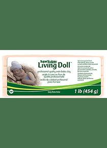 Super Sculpey Living Doll - Arcilla Polimérica Baby (Bebé); 1 lb (454 g)