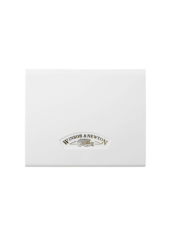 Winsor & Newton Cotman - Set 14 Acuarelas Compacto, Medias Pastillas + Pincel