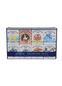 Winsor & Newton - Set 8 Tintas de Dibujo Sir Henry Collection