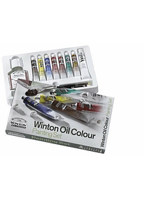 Winsor & Newton Winton - Kit Mini Óleos Básico