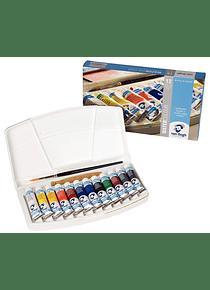 Van Gogh - Set 12 Acuarelas Colores Básicos; Tubos 10 ml