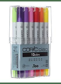 Copic Ciao - Set 12 Marcadores Basic Color