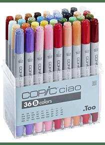 Copic Ciao - Set 36 Marcadores Colores B