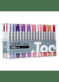 Copic Ciao - Set 72 Marcadores Colores A
