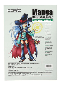 Copic Manga Illustration Paper - Pack 30 Hojas Pure White No.0610-2; B4 25,7 x 36,4 cm, 65 gr/m2