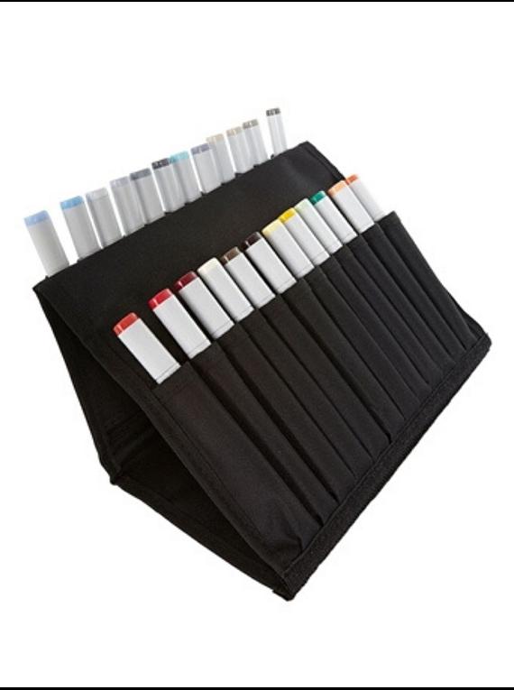 Copic Marker Wallet - Estuche Vacío para 24 Marcadores