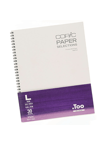 Copic Paper Selections - Cuaderno, Bond 24 x 30,5 cm, 30 Hojas, 157 gr/m2
