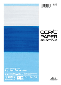 Copic Paper Selections - Pack 20 Hojas PM Paper; A4 21 x 29,7 cm, 68 gr/m2