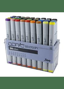 Copic Sketch - Set 36 Marcadores Colores