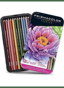 Prismacolor Premier - Set 12 Lápices de Colores; Edición Jardín Botánico