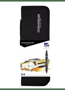 Prismacolor Premier - Set 24 Marcadores; Con Estuche