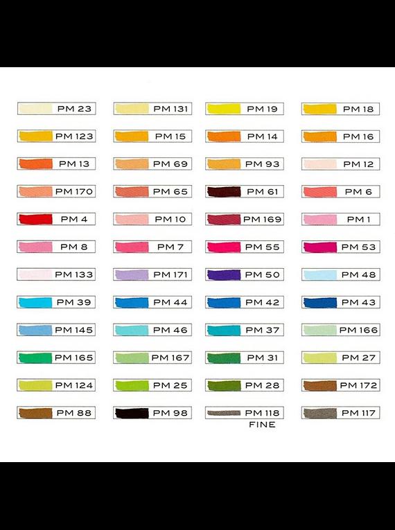 Prismacolor Premier - Set 48 Marcadores; Doble Punta, Incluye Estuche