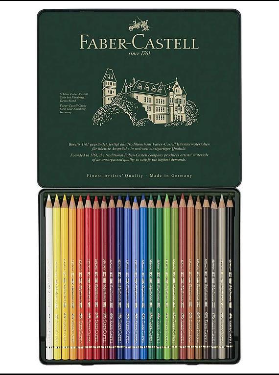 Faber Castell Polychromos - Set 24 Lápices de Colores