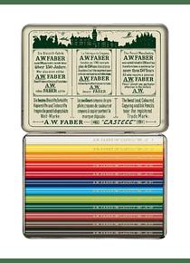 Faber-Castell Polychromos - Set 12 Lápices Cortos Edición Aniversario 111 años