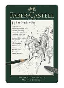 Faber-Castell Pitt - Kit Grafito; Lápices y Accesorios