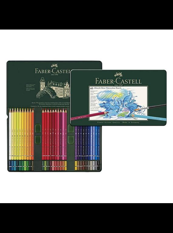 Faber-Castell Albrecht Durer - Set 60 Lápices Acuarelables