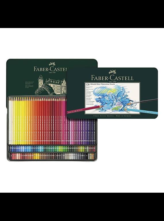 Faber-Castell Albrecht Durer - Set 120 Lápices Acuarelables