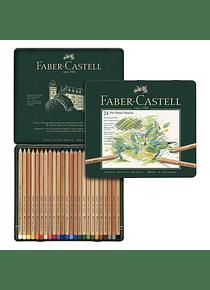 Faber-Castell Pitt - Set 24 Lápices Pastel
