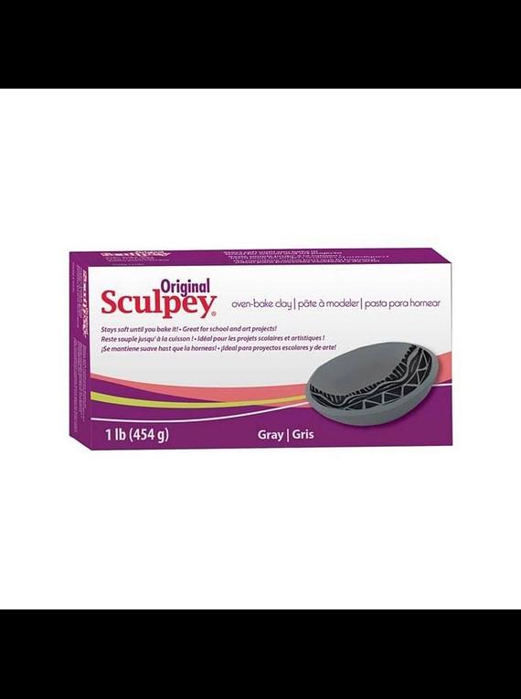 Sculpey Original - Arcilla Polimérica Gris; 1 lb (454 g)