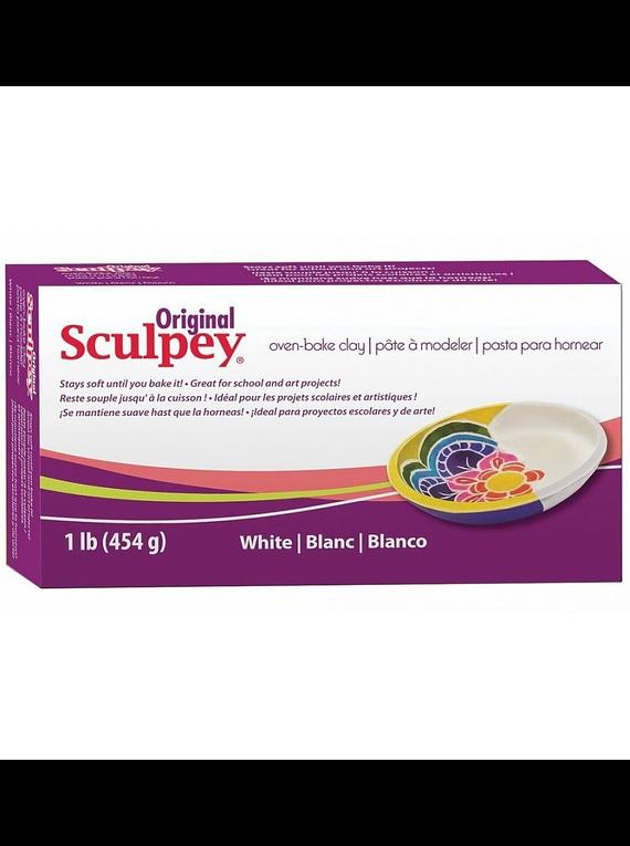 Sculpey Original - Arcilla Polimérica Blanco; 1 lb (454 g)
