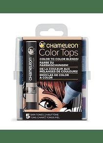 Chameleon Color Tops - Set 5 Marcadores Tonos Piel