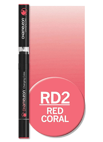 Chameleon Color Tones - Marcador (RD2); Red Coral